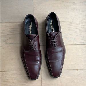 Chocolate brown oxfords shoes